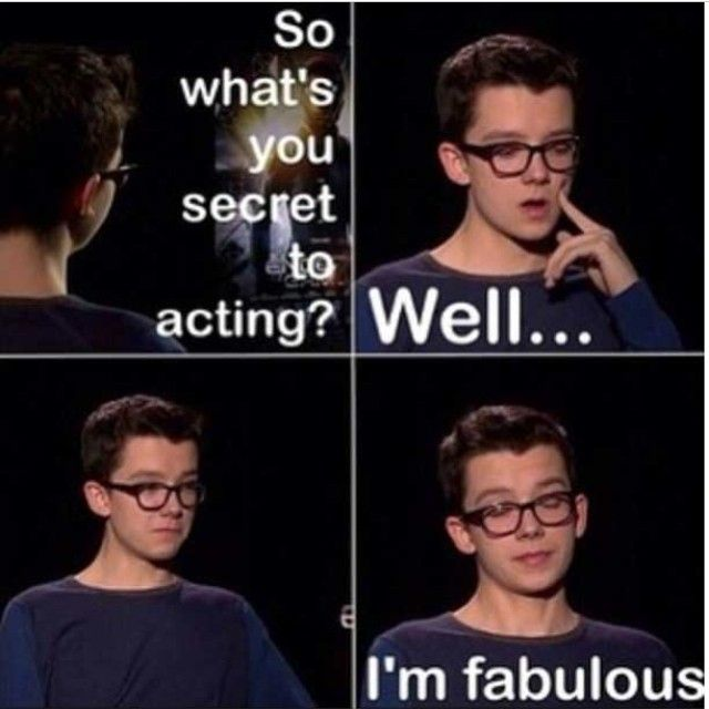 OMG I LAUGHED SOOOO HARD WHEN I SAW THIS!!! yes. Asa u are fabulous