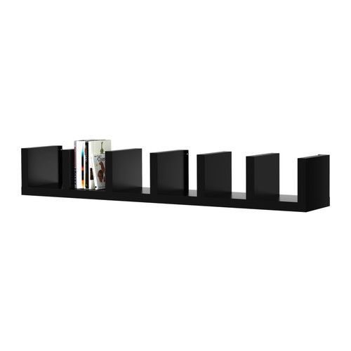LACK Wandregal - schwarz - IKEA