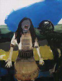 Hizti, Oil on canvas