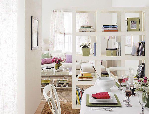 66 best images about casa divisores de ambientes on - Estanterias comedor ...