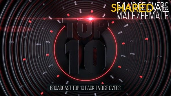 Videohive - Broadcast Top 10 Pack | Voice Overs 19222867 - Free Download