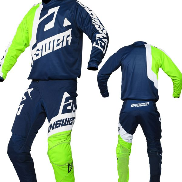 Download Answer Syncron Voyd Midnight Hyperacid White Kit Combo Sports Jersey Design Racing Suit Jersey Design