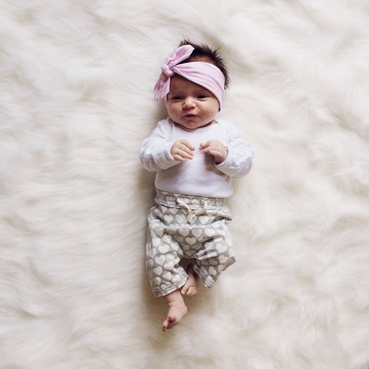 this little sweetie in her LHS baby headband. swoon!
