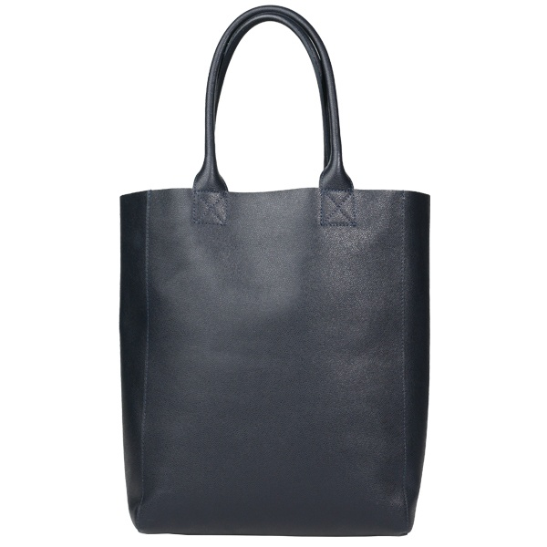 Unlined Tote, navy