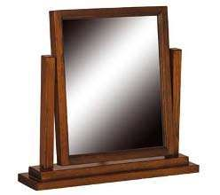 room4 boston antique brown dressing table mirror