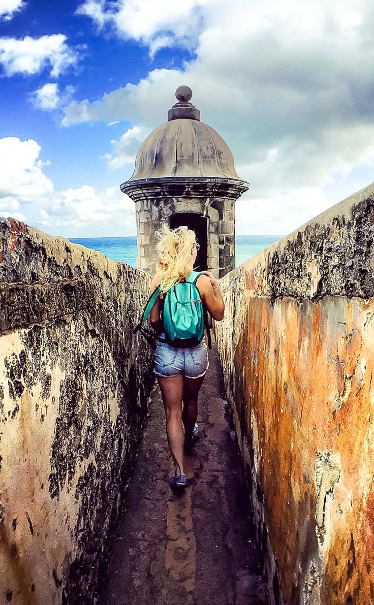 San Juan, Puerto Rico | What would you do with 8 hours in Puerto Rico? The Castillo San Felipe Del Morro citadel features compelling architecture and a rich history. Come seek old San Juan when you cruise with Royal Caribbean. (Photo: crew member Sammie B.)