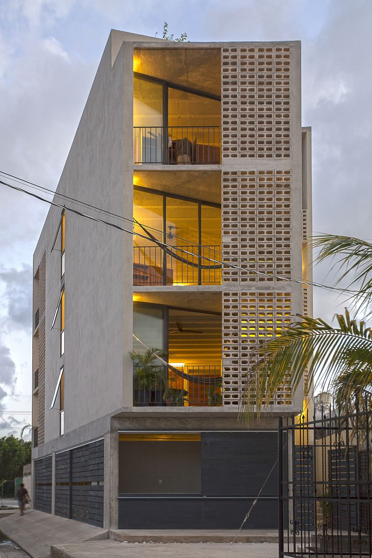 4940 best architecture images on pinterest facades architecture completed in 2015 in cancn mexico images by wacho espinosa blademir lvarez sciox Images