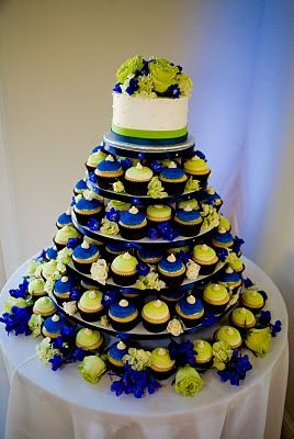 easy wedding cake cupcakes 17 best ideas about blue wedding cupcakes on 13836