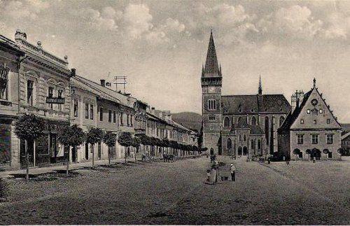 Radničné námestie, rok 1937