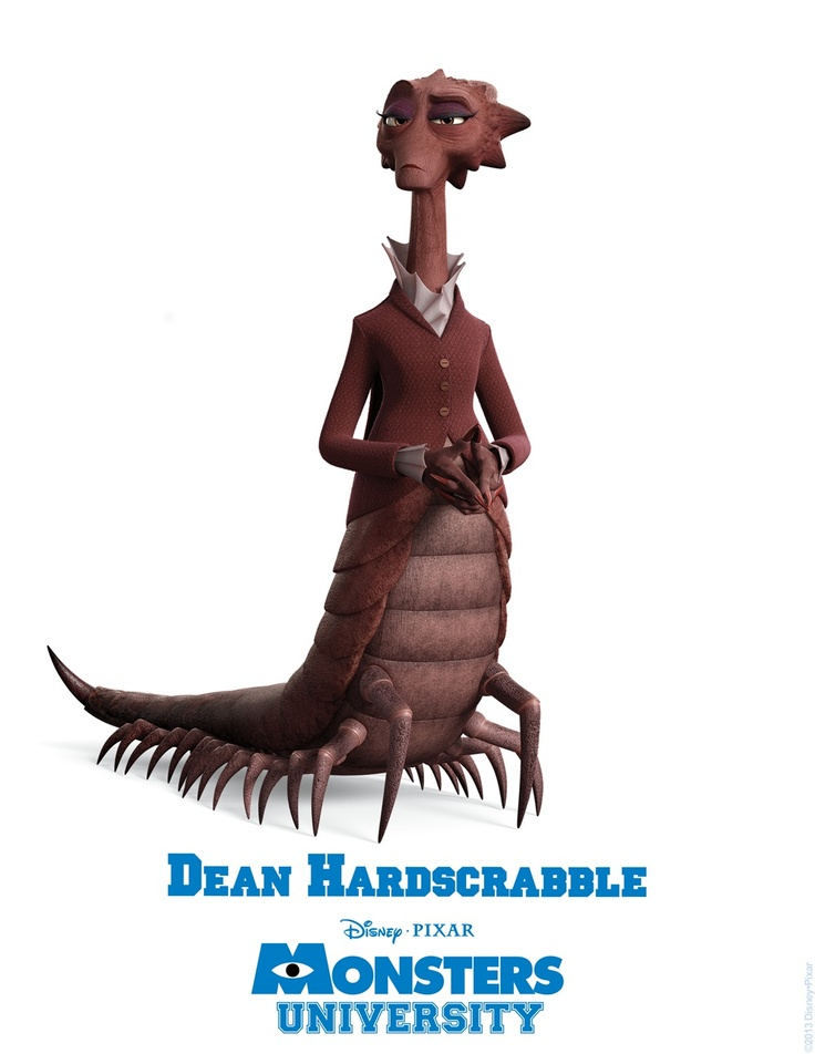 Monsters University - Dean Hardscrabble
