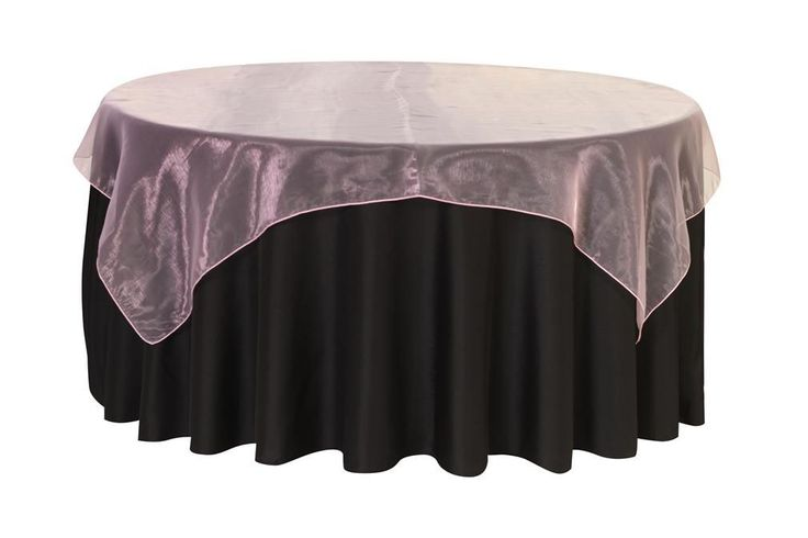 Your Chair Covers Inc. - 72 inch Square Organza Table Overlays Pink, $3.07 (http://www.yourchaircovers.com/72-inch-square-organza-table-overlays-pink/)