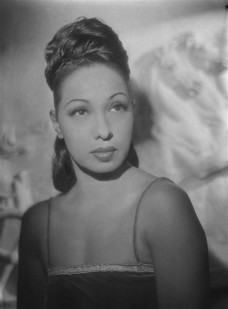 """Josephine Baker (June 3, 1906 – April 12, 1975) was an American-born French dancer, singer, and actress who came to be known in various circles as the """"Black Pearl,"""" """"Bronze Venus"""" and even the """"Creole Goddess"""". Born Freda Josephine McDonald in St. Louis, Missouri, Josephine later became a citizen of France in 1937. She was fluent in both English and French. Baker was the first African-American female to star in a major motion picture, Zouzou (1934) or to become a world-famous entertainer."""