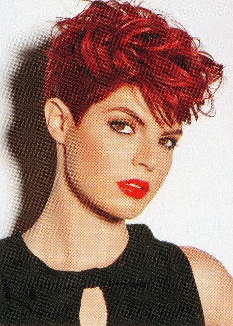 Big curly red pixie | Flickr - Photo Sharing! | Jane fonda ...