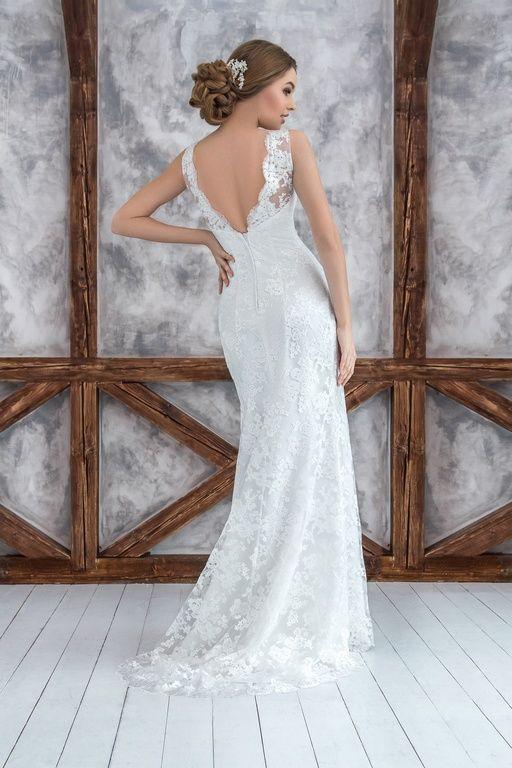 """Коллекция """"ODRI Love Voyage"""" - Тирана, свадебное платье рыбка, открытая спинка свадебного платья, wedding dress, wedding"""