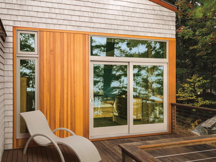 The Color Of Your Patio Door Can Be Customized To Fit The Style Of Your Home
