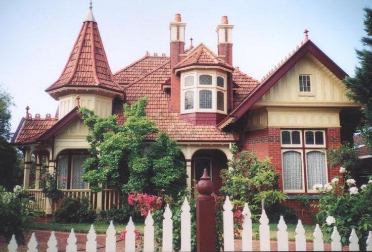 Victorian Homes   Victorian-era house, Melbourne.