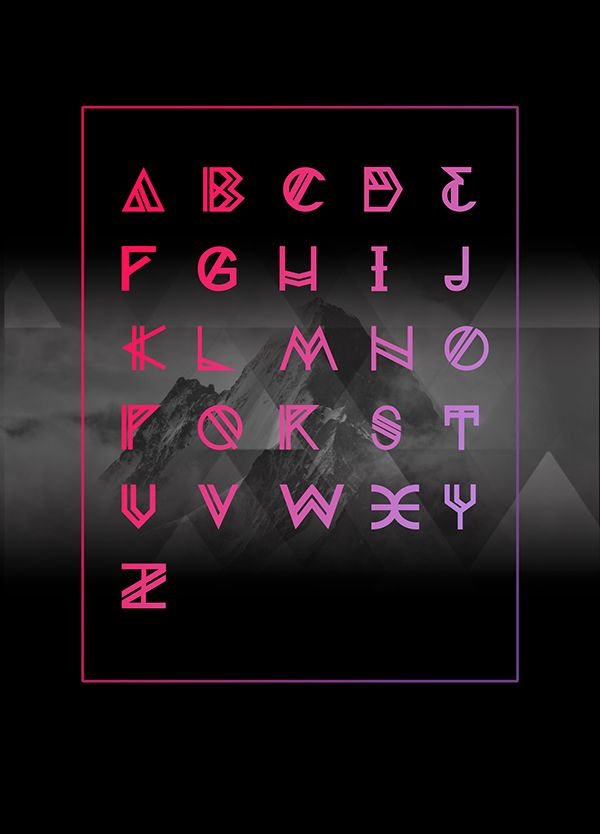 Nordic Free Font by Yana Bereziner in Collection of New Free Fonts for February 2015