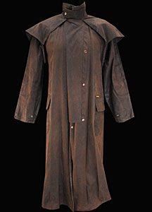 Vintage men's duster. #western wear #coats #duster jackets