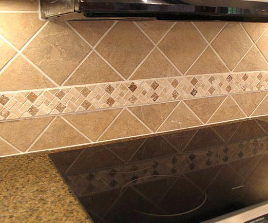 install a ceramic tile backsplash