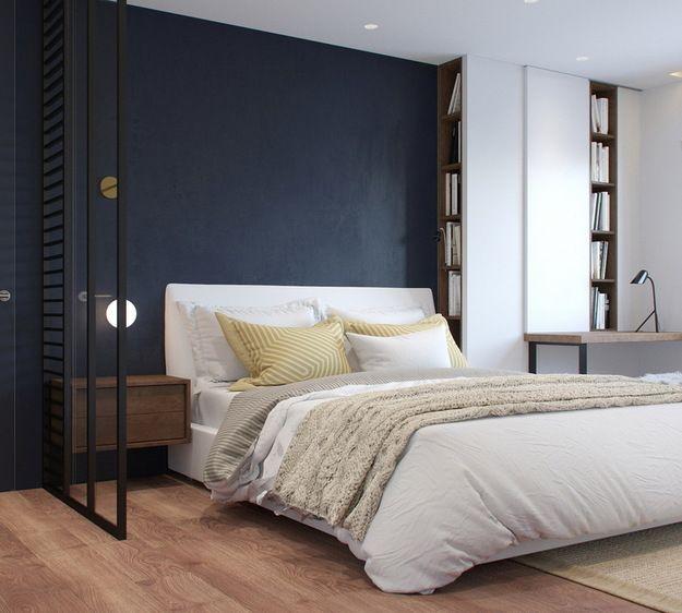 Состаренные поверхности и стены темных оттенков, обилие зеркал и скрытые системы хранения – вместе с Евгенией Лыкасовой рассказываем, как эффектно оформить спальню
