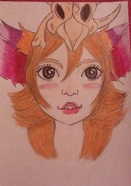 league of legends Gnar girl fanart