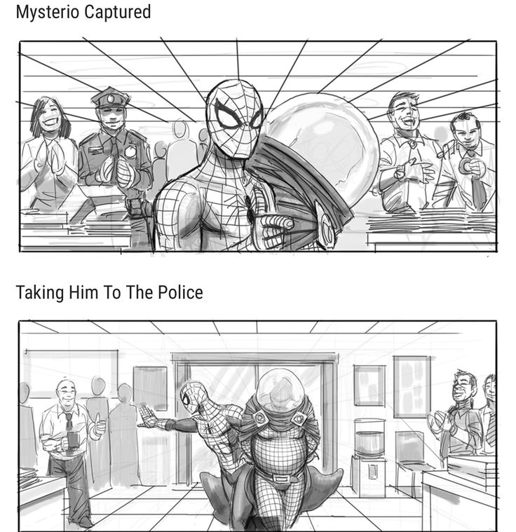 Best Storyboard Images On   Comic Book Comic Books