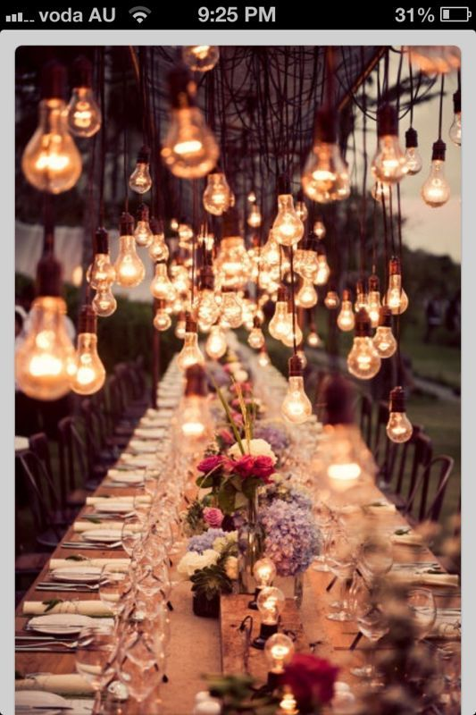 Spectacular Entertaining Events| Your Wedding day| Alice in Wonderland Wedding Reception | ... Fairy-tale Romance| Dropped lightbulb fixture