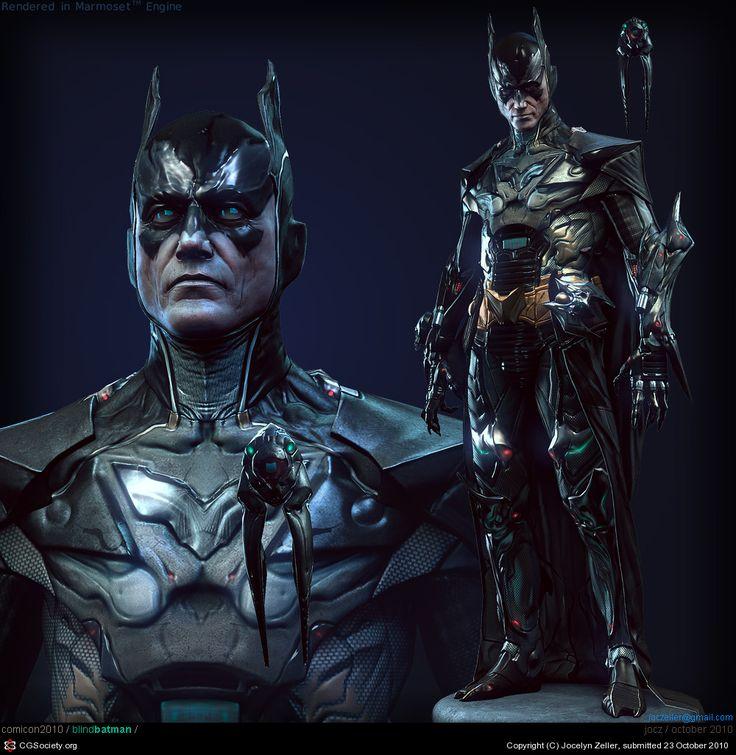 CGTalk - Blind Batman - Real Time Character, Jocelyn Zeller (3D)