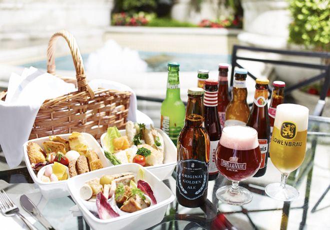 ザリッツカールトン大阪で飲み放題付きピクニック
