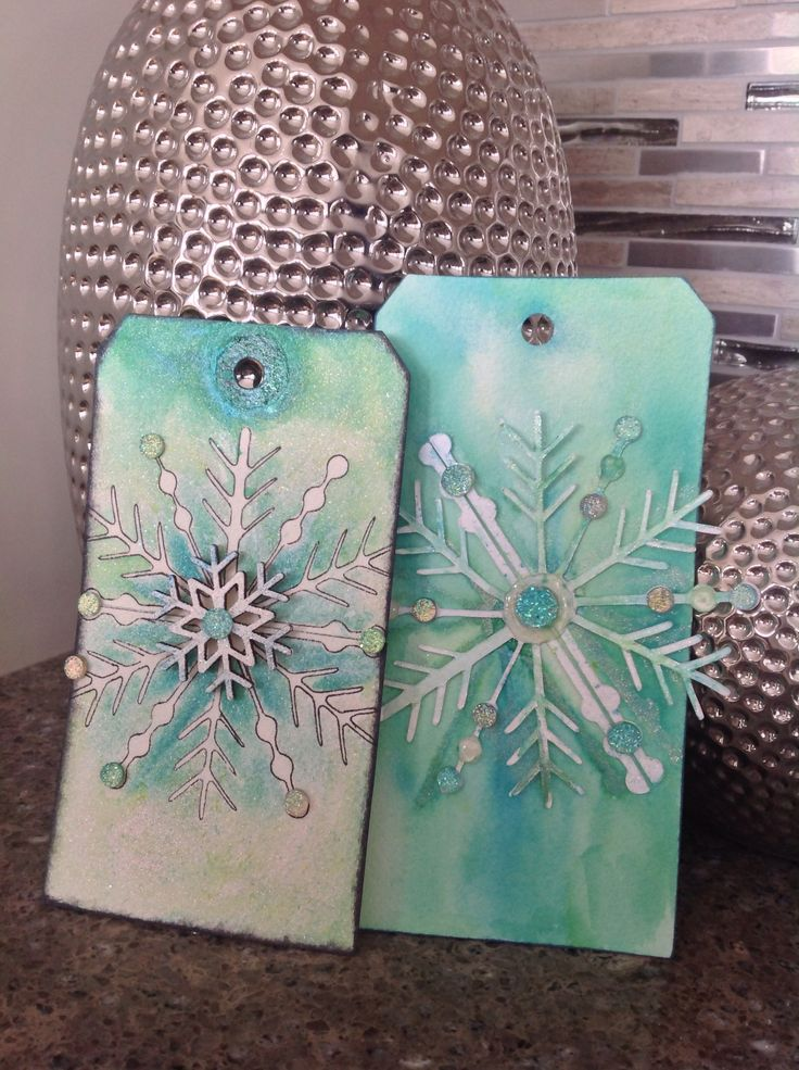 Jeannette's Mixed Media Tags 2014