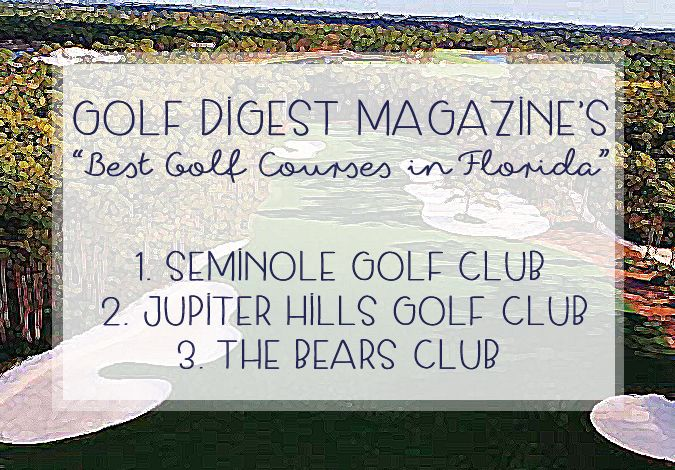 3 Local Golf Courses on Golf Digest's Best Golf Courses List