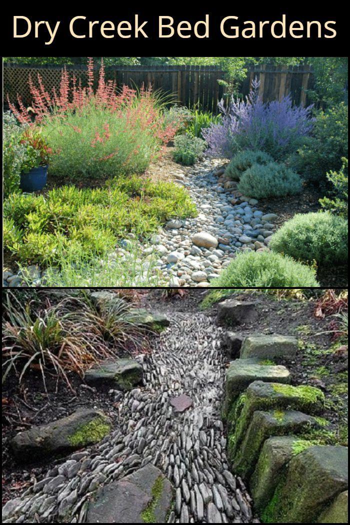 Dry Creek Bed Gardens Low Maintenance Garden Dry Creek Bed Garden Beds