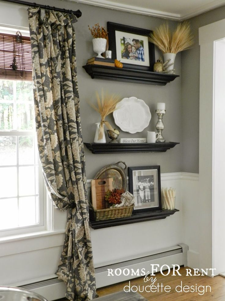 Love These Wall Shelves And The Styling Rooms FOR Rent Fall Home