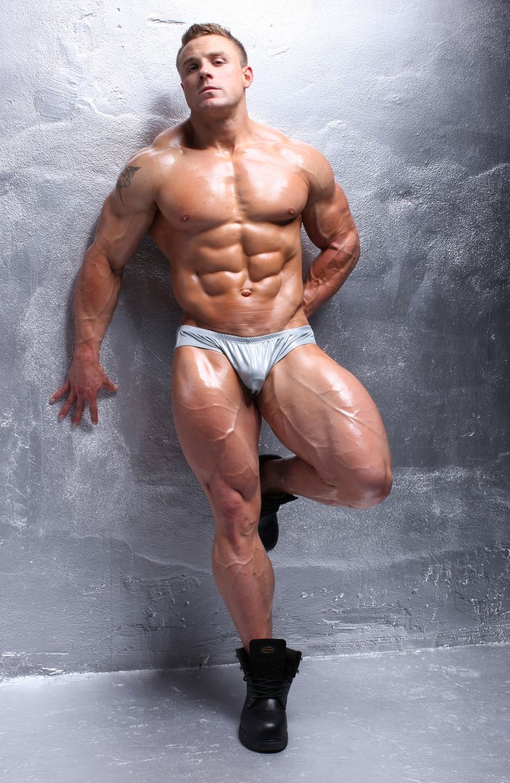 Actor Model Bodybuilder Brad Rowe Big Bulge In Posing