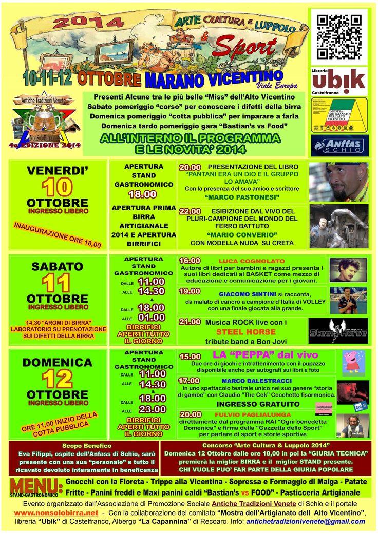 Programma definitivo Arte Cultura & Luppolo