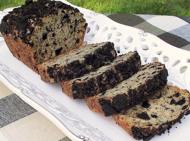 Best of Long Island and Central Florida: Cookies 'n Cream Zucchini Bread