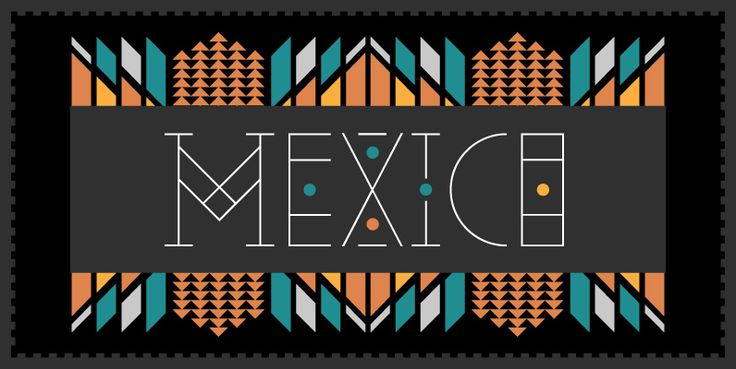 YWFT Pello a font with a Mexican twist | Art and design inspiration from around the world - CreativeRoots