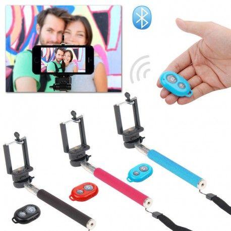 Selfie Sticks Control Remoto Bluetooth