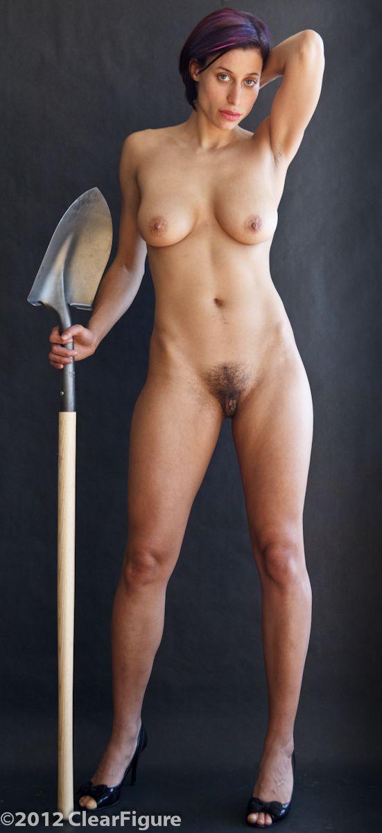 Naked bottomless female athletes sense