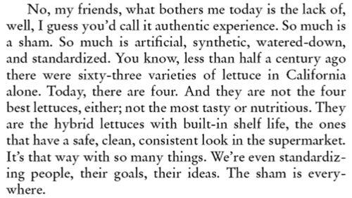 Tom Robbins, Jitterbug Perfume --- one of my favorite books.
