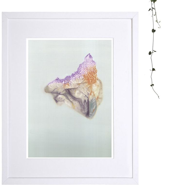 .Cactus Amethyst. Limited edition print