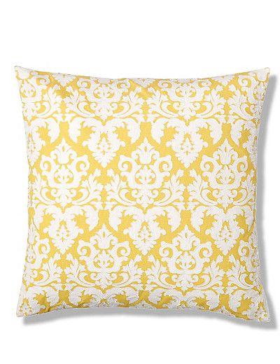 Sectional Sofas Yellow Mix Damask Appliqu Cushion M uS