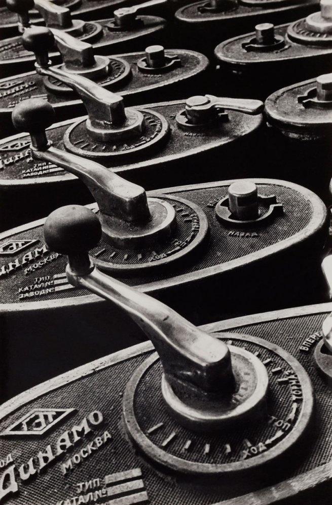 Boris Ignatovich Tramway Handles (printed Gelatin Silver Print 9 In. Currier  Museum Of Art, Manchester, New Hampshire Art © Estate Of Boris  Ignatovich/RAO, ...