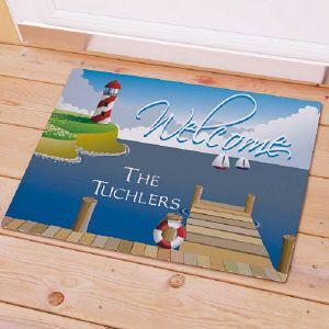 Welcome! Create the welcome doormat to greet the guest.