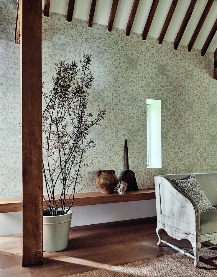 коллекция Pure,принт Pure Net Ceiling Культовые узоры Morris с новой точки зрения #morris #design #дизайнинтерьера #вдохновение