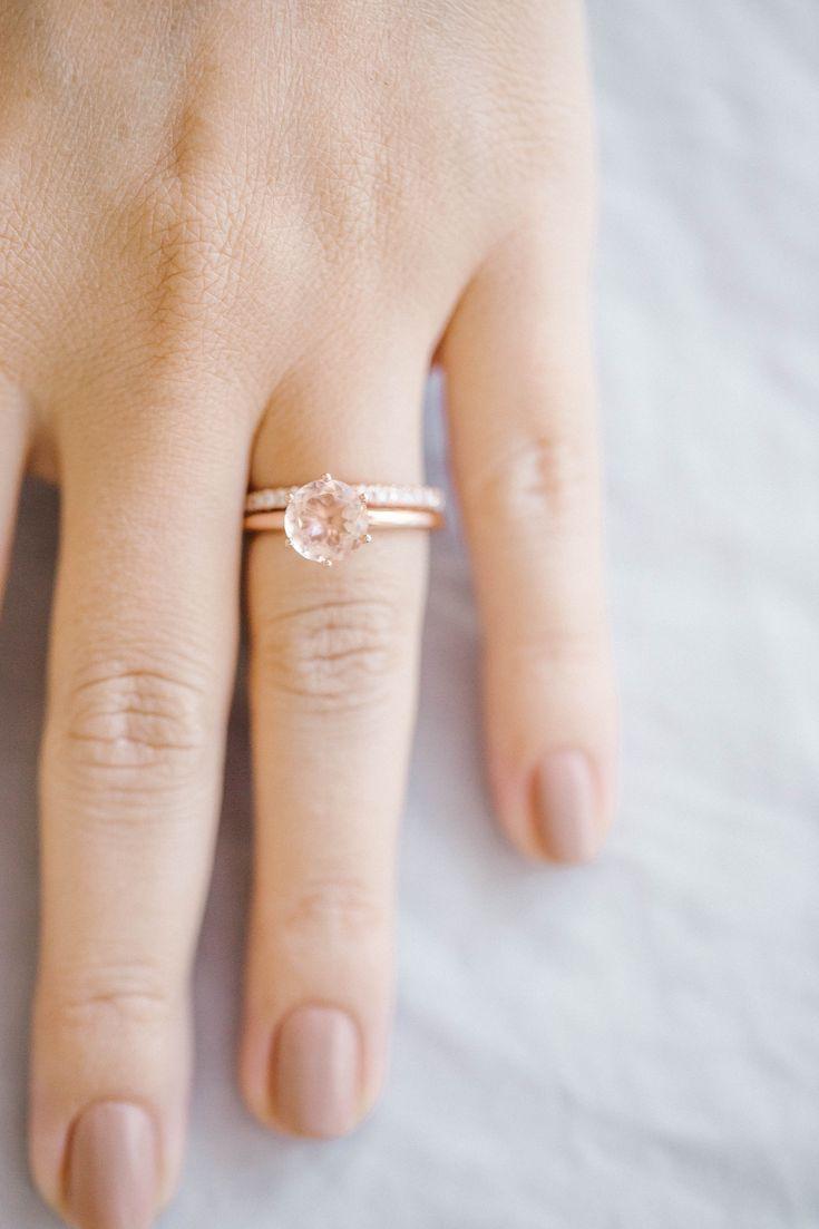 LC Lauren Conrad 10k Rose Gold Morganite Ring | Available on Kohls.com