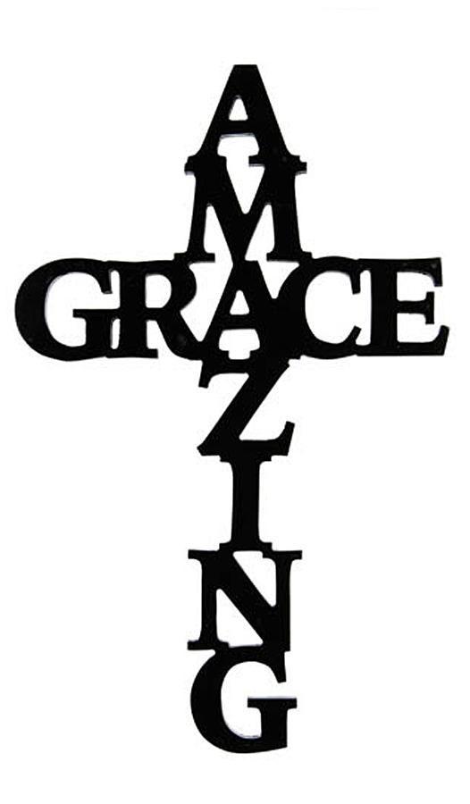 Amazing Grace Cross Kcs Amazing Grace Cross Cross Wall Art Wall Crosses