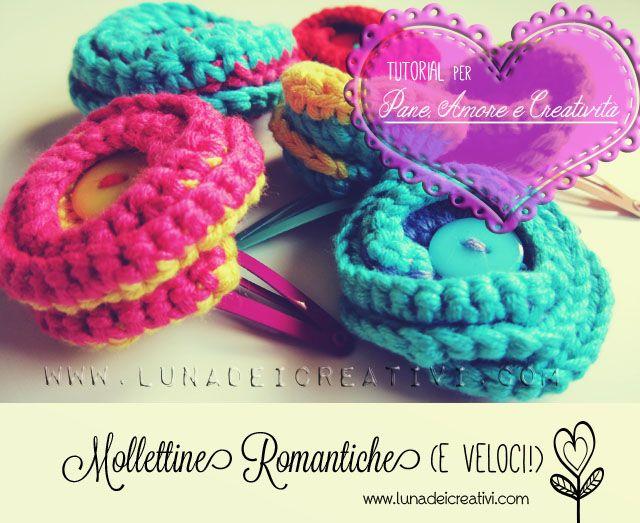 Mollette Romantiche a Crochet: il Nostro Tutorial per Pane, Amore e Creatività! - LUNAdei creativi