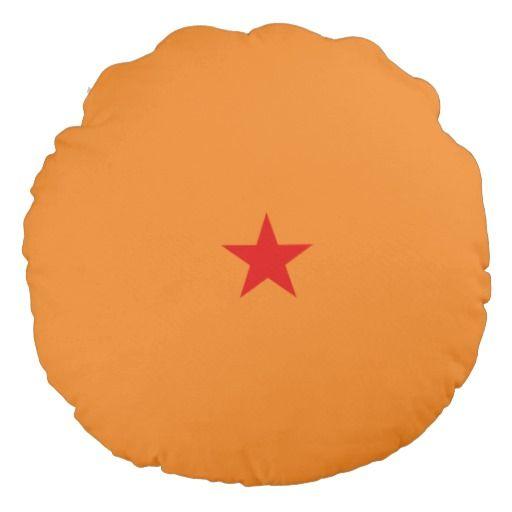One star dragon ball round pillow