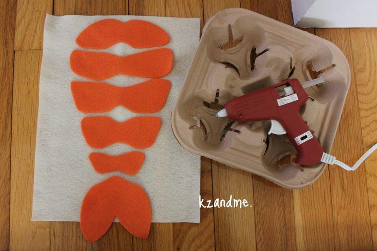 Kz and Me: Baby Sushi Costume